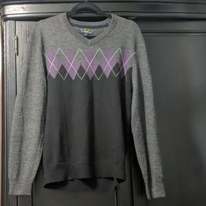 Club room wool sweater